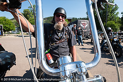 Aidan's Ride leaving from the Iron Horse Saloon during the Sturgis Black Hills Motorcycle Rally. Sturgis, SD, USA. Tuesday, August 6, 2019. Photography ©2019 Michael Lichter.