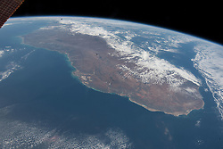 July 7, 2018 - Space - From Space: The island nation of Madagascar was photographed by an Expedition 56 crew member as the International Space Station orbited about 255 miles above the Mozambique Channel which separates Madagascar from the African nation of Mozambique. (Credit Image: ? NASA/ZUMA Wire/ZUMAPRESS.com)