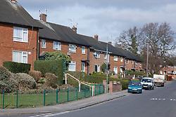 Beckhampton Road, Bestwood Estate, Nottingham, England.