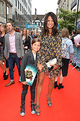 Jenny Powell and daughter Pollyanna arriving at The opening night of Wind in The Willows at the London Palladium, Argyll Street, London England. 29 June 2017.<br /> Photo by Dominic O'Neill/SilverHub 0203 174 1069 sales@silverhubmedia.com