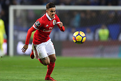 December 1, 2017 - Porto, Porto, Portugal - Benfica's Argentinian forward Franco Cervi in action during the Premier League 2016/17 match between FC Porto and SL Benfica, at Dragao Stadium in Porto on December 1, 2017. (Credit Image: © Dpi/NurPhoto via ZUMA Press)