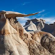 Wing Hoodoos - Bisti Badlands - New Mexico
