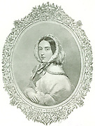 Queen Victoria.  This picture represents the Queen in the year 1876, when she assumed the title of 'Empress of India'.