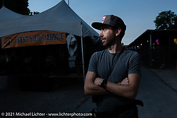 Sean Lichter at the Tennessee Motorcycles and Music Revival at Loretta Lynn's Ranch. Hurricane Mills, TN, USA. Thursday, May 20, 2021. Photography ©2021 Michael Lichter.