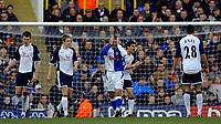 Photo: Daniel Hambury.<br />Tottenham Hotspur v Blackburn Rovers. The Barclays Premiership. 05/03/2006.<br />Blackburn's David Bentley shows his frustion at missing a chance.