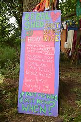 Latitude Festival, Henham Park, Suffolk, UK July 2019. Rebel Shed line up in the Woods
