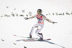 Anze Semenic (SLO) during the Ski Flying Hill Team Competition at Day 3 of FIS Ski Jumping World Cup Final 2016, on March 19, 2016 in Planica, Slovenia. Photo by Ziga Zupan / Sportida