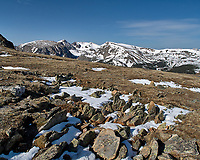 View from Trail Ridge Road. Rocky Mountain National Park. Image taken with a Nikon D2xs camera and 14 mm f/2.8 lens (ISO 100, 14 mm, f/8, 1/640 sec).