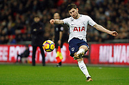 Ben Davies of Tottenham Hotspur in action. Premier league match, Tottenham Hotspur v West Ham United at Wembley Stadium in London on Thursday  4th January 2018.<br /> pic by Steffan Bowen, Andrew Orchard sports photography.