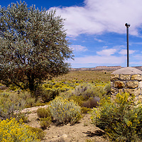 One of the artesian wells near the Pinedale chapter house Tuesday in Pinedale.