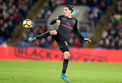 Arsenal's Hector Bellerin during the Premier League match at Selhurst Park, London, Thursday 28th December 2017
