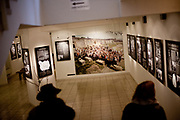 "The permanent exhibition about Oskar Schindler with the title ""In search of the star of David"" curated by Radoslav Fikejz at the local museum in the city of Svitavy in 2012."