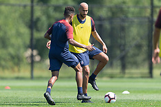The US team training & press conference - 3 Sep 2018