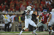 Vanderbilt Commodores quarterback Johnny McCrary (2) against Mississippi Rebels  at Vaught-Hemingway Stadium at Ole Miss in Oxford, Miss. on Saturday, September 26, 2015. (AP Photo/Oxford Eagle, Bruce Newman)