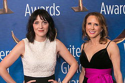 February 17, 2019 - Beverly Hills, California, U.S - Jen Kirkman and Sheila Lawrence in the red carpet of the 2019 Writers Guild Awards at the Beverly Hilton Hotel on Sunday February 17, 2019 in Beverly Hills, California. ARIANA RUIZ/PI (Credit Image: © Prensa Internacional via ZUMA Wire)
