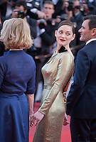 Actress Marion Cotillard at the gala screening for the film Mal De Pierres (From the Land of the Moon) at the 69th Cannes Film Festival, Sunday 15th May 2016, Cannes, France. Photography: Doreen Kennedy