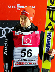 11.12.2016, Lysgards Schanze, Lillehammer, NOR, FIS Weltcup Ski Sprung, Lillehammer, im Bild Markus Eisenbichler (GER, 3. Platz) // 3rd placed Markus Eisenbichler of Germany // during Mens Skijumping of FIS Skijumping World Cup at the Lysgards Schanze in Lillehammer, Norway on 2016/12/11. EXPA Pictures © 2016, PhotoCredit: EXPA/ Tadeusz Mieczynski