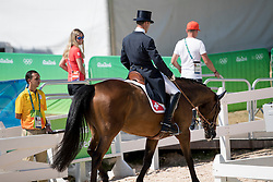 Vogg Ben, SUI, Noe Des Vatys<br /> Dressage test evening<br /> Olympic Games Rio 2016<br /> © Hippo Foto - Dirk Caremans<br /> 06/08/16