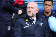 Queens Park Rangers manager Ian Holloway sat in dug out during the EFL Sky Bet Championship match between Queens Park Rangers and Rotherham United at the Loftus Road Stadium, London, England on 18 March 2017. Photo by Matthew Redman.