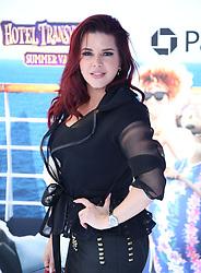 July 1, 2018 - Los Angeles, California, USA - 6/30/18.Alicia Machado at the premiere of ''Hotel Transylvania 3: Summer Vacation'' held at the Westwood Village Theatre in Los Angeles, CA. (Credit Image: © Starmax/Newscom via ZUMA Press)