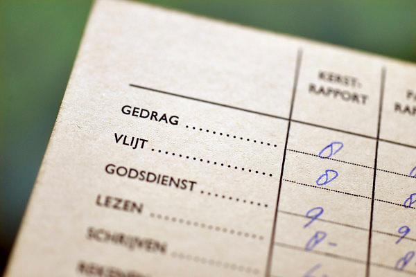Nederland, Ubbergen, 3-2-2014Mijnn rapport van de katholieke lagere school uit 1964. Er werd een cijfer gegeven voor gedrag , vlijt en godsdienst. Mijn klas destijds bestond uit 48 leerlingen.Foto: Flip Franssen/Hollandse Hoogte