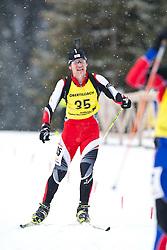 11.12.2010, Biathlonzentrum, Obertilliach, AUT, Biathlon Austriacup, Sprint Men, im Bild Alexander Jakob (AUT, #35). EXPA Pictures © 2010, PhotoCredit: EXPA/ J. Groder