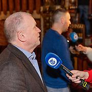 NLD/Amsterdam/20190107 - nloop voorpremière Stan & Ollie, Evert Santegoeds geeft interview