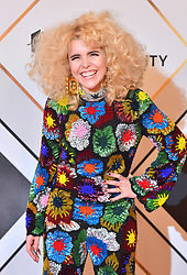 Paloma Faith during the red carpet arrivals for the BBC Sports Personality of the Year 2018 at The Vox at Resorts World Birmingham.