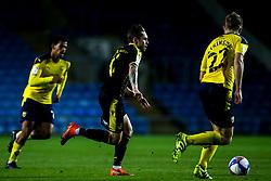 Sam Nicholson of Bristol Rovers takes on Rob Atkinson of Oxford United - Mandatory by-line: Robbie Stephenson/JMP - 06/10/2020 - FOOTBALL - Kassam Stadium - Oxford, England - Oxford United v Bristol Rovers - Leasing.com Trophy