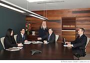 Portrait de réunion corporative à  Lombard Odier / Montreal / Canada / 2012-10-10, Photo © Marc Gibert / adecom.ca