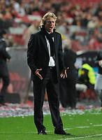 20120316: LISBON, PORTUGAL - Liga Zon Sagres 2011/2012: SL Benfica vs Beira-Mar. In picture: Jorge Jesus. PHOTO: Alvaro Isidoro/CITYFILES