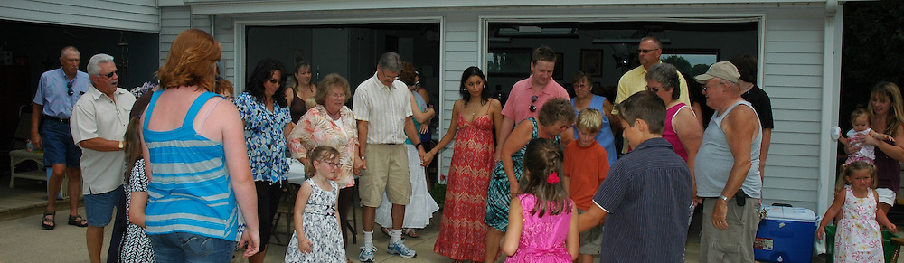 This is James and Olga Walker's Elsie Reception July 2010. This was at Robert and Edie Frye's House at 6231 Warren Road, Elsie Michigan,48831. They family was all there and the family photos are now up to date and new family is always growing! Con graduations!  Love your Brother, Rogerray