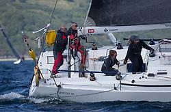 Clyde Cruising Club's Scottish Series 2019<br /> 24th-27th May, Tarbert, Loch Fyne, Scotland<br /> <br /> Day 1, GBR4757R, Moonstruck Too,  Port Edgar, J122<br /> <br /> Credit: Marc Turner / CCC