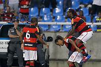 20120308: RIO DE JANEIRO, BRAZIL - Copa Libertadores da America 2011/2012: Flamengo vs Emelec.<br /> In photo: Wagner Love and Ronaldinho Gaucho.<br /> PHOTO: CITYFILES