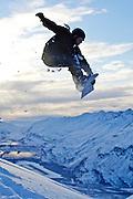 Ryan McCune above Valdez Alaska. MR