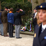 Dodenherdenking 2002 Huizen