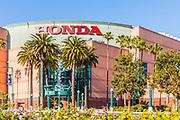 Southwest Corner of the Honda Center