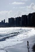 Fortaleza_CE, Brasil...Cidade de Fortaleza, Ceara. Na foto Praia de Mucuripe...City Fortaleza, Ceara. In this photo Mucuripe beach...Foto: BRUNO MAGALHAES / NITRO