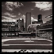 iPhone Instagram of Target Field in Minneapolis, Minnesota on August 24, 2014