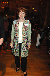 PAM AYRES at the Orion Authors Party held at the Royal Opera House, Covent Garden, London on 11th February 2008.<br /><br />NON EXCLUSIVE - WORLD RIGHTS
