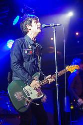Johnny Marr on stage at The Liquid Room, Edinburgh, United Kingdom.
