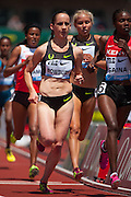 Shannon Roxbury of the USA ran an area record 9:20.25 to place fourth in the Prefontaine Classic's Women's 2 Mile. The Prefontaine Classic, the longest-running international invitational meet in the United States, turns 40 this year.<br /> The 2014 elite competition held in Eugene, Oregon at the University of Oregon's historic Hayward Field is in it's 5th year hosting the IAAF's Diamond League event.
