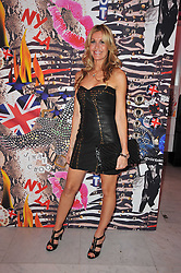 MELISSA ODABASH at the launch of Project PEP to benefit the Elton John Aids Foundation hosted by Tamara Mellon and Diana Jenkins in association with Jimmy Choo held at Selfridges, Oxford Street, London on 29th October 2009.