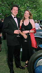 MR WILLIAM TURNER and MISS EMILY OPPENHEIMER a member of the De Beers diamond family, at a reception in London on 7th June 1997.LZA 40