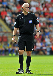Referee Michael Bull - photo mandatory by-line David Purday JMP- Tel: Mobile 07966 386802 09/08/14 - Leyton Orient v Chesterfield - SPORT - FOOTBALL - Sky Bet Leauge 1 - London -  Matchroom Stadium