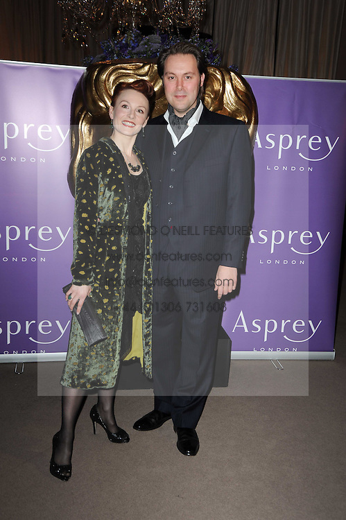 Christian Mckay with his wife Emily Allen at the Orange BAFTA's Nominees party held at Asprey, 165 New Bond Street, London on 20th February 2010.