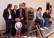 The Damned with Lol Coxhill and Pink Floyd 1975