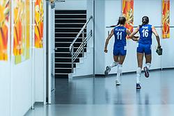 19-10-2018 JPN: Semi Final World Championship Volleyball Women day 20, Yokohama<br /> Serbia - Netherlands / Stefana Veljkovic #11 of Serbia, Milena Rasic #16 of Serbia