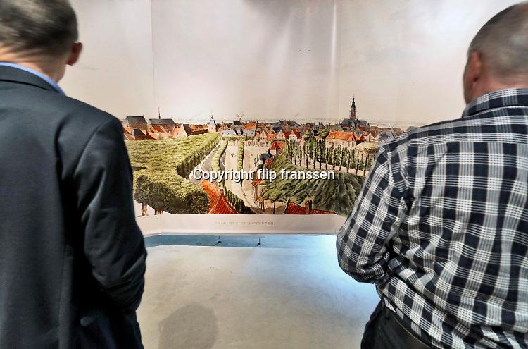 Nederland, Nijmegen, 16-4-2019Aan de voet van de valkhofheuvel, het valkhof, staat De Bastei, het nieuwe centrum voor natuur en cultuurhistorie, dat doorloopt tot de 16e eeuwse Stratemakerstoren. FOTO: FLIP FRANSSEN