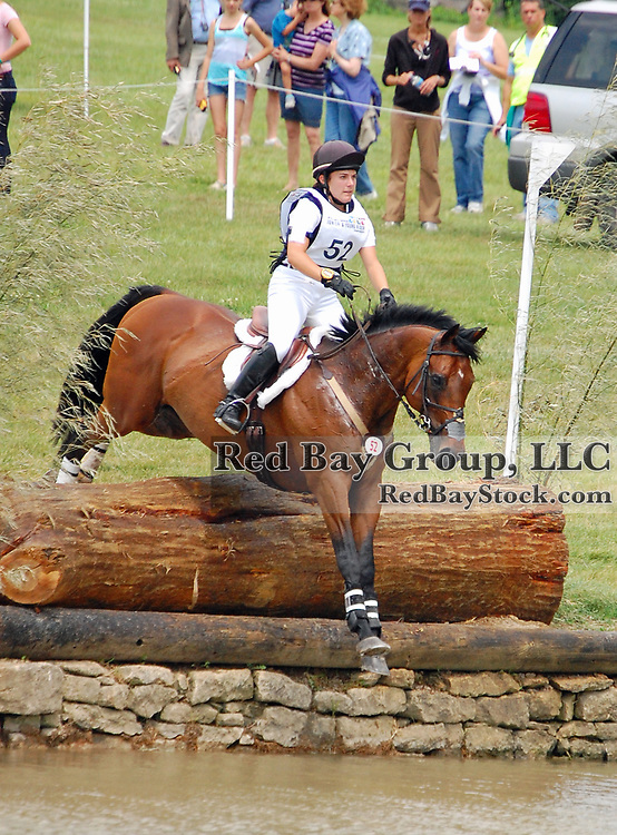 at the FEI North American Junior and Young Rider Championships in Lexington, Kentucky.